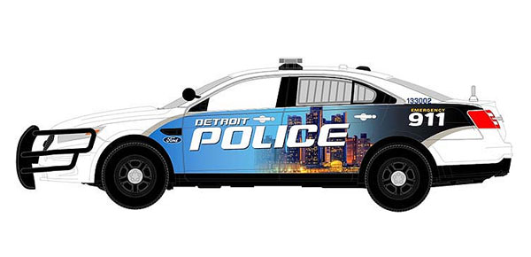 FDS-122 - First Response Detroit MI Police 2014 Ford Police
