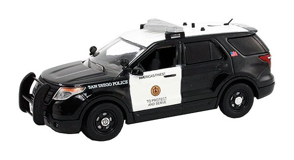 FDU-103 - First Response San Diego Police 2014 Ford Police