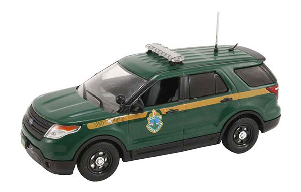 FDU-120 - First Response Vermont State Police 2014 Ford Police