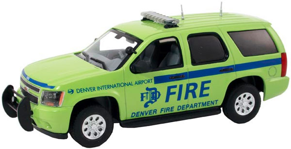 TAH-140 - First Response Denver International Airport Fire Dept Chevrolet