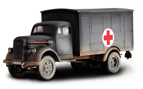 80076 - Forces Of Valor WWII German 4x4 Ambulance France 1940