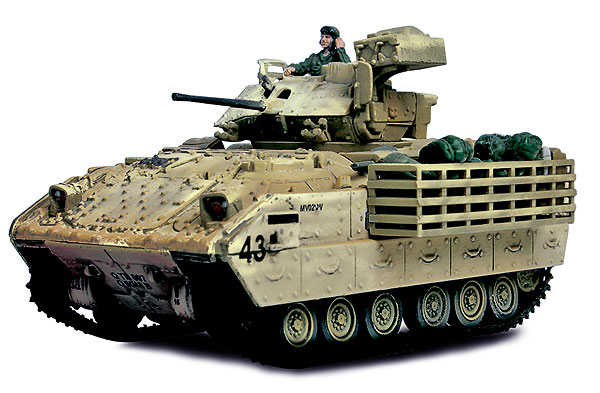85053 - Forces Of Valor US M3A2 Bradley Fighting Vehicle Baghdad