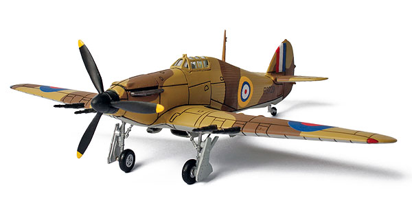 85060 - Forces Of Valor WWII UK Hawker Hurricane Egypt 1940