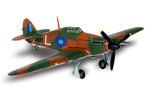 85329 - Forces Of Valor WWII UK Hurricane South East Asia