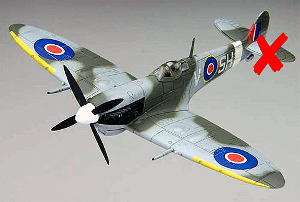 85550-X - Forces Of Valor Spitfire MK IX England 1942 UK