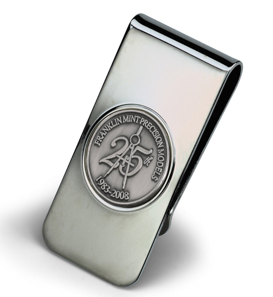 FMCLIP - Franklin Mint 25th Anniversary Money Clip