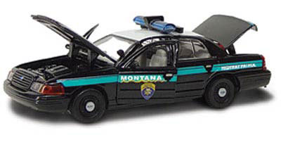 27152-X - Gearbox Montana Police 2001 Ford Crown Victoria