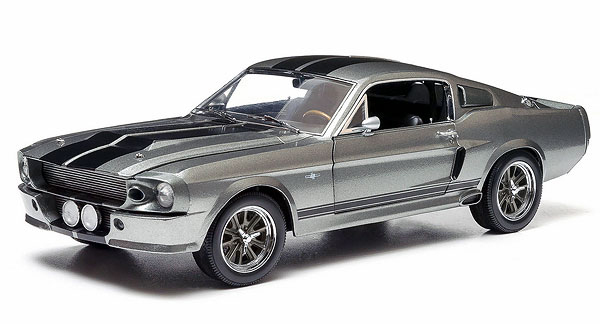 12909-X - Greenlight 1967 Ford Mustang Eleanor Gone