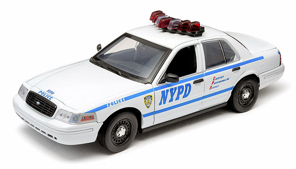 12920 - Greenlight New York Police Department Ford Crown