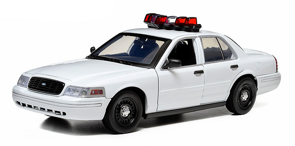 12921 - Greenlight Ford Crown Victoria Police Interceptor