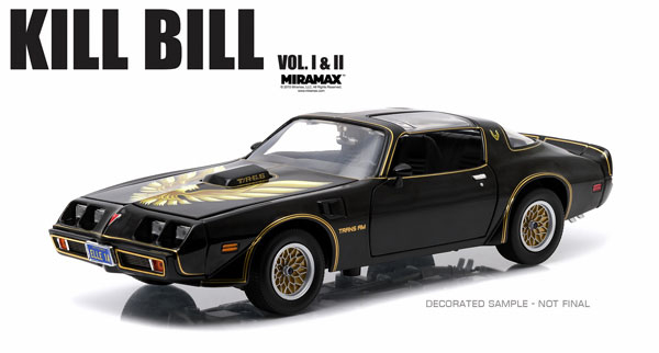 12951 - Greenlight Diecast 1979 Pontiac Firebird Trans Am Kill Bill
