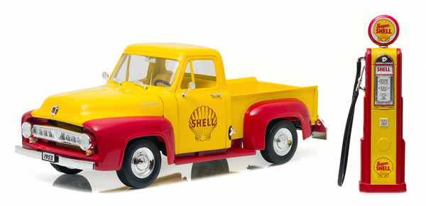 12983 - Greenlight Shell Oil 1953 Ford