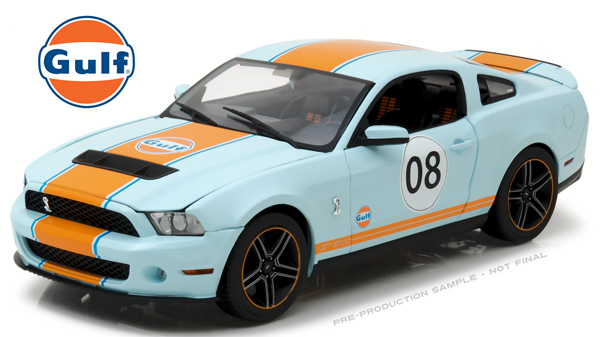 12990 - Greenlight Gulf Oil 2012 Shelby GT500