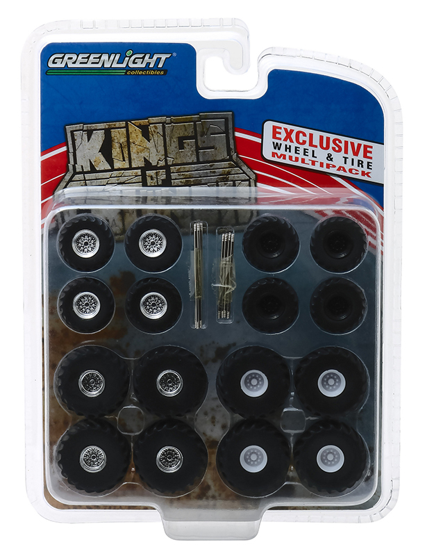 13169 - Greenlight Diecast Kings of Crunch Wheel Tire Pack