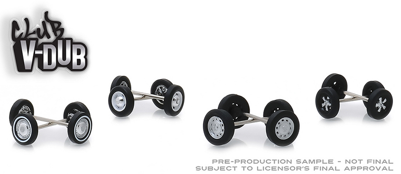 13172 - Greenlight Diecast Club Vee Dub Wheel Tire Pack