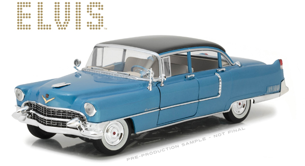 13502 - Greenlight 1955 Cadillac Fleetwood Series 60 Blue
