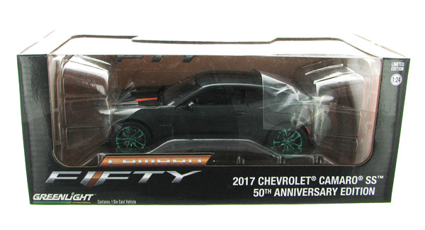 18234-SP - Greenlight Diecast 2017 Chevrolet Camaro SS 50th Anniversary Edition