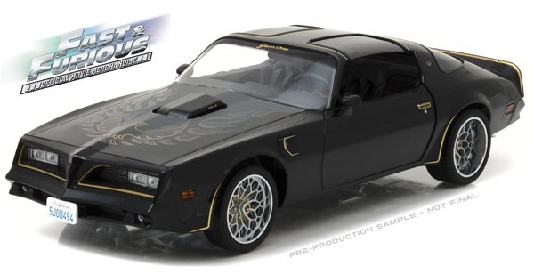 19026 - Greenlight Tegos 1978 Pontiac Firebird Trans Am