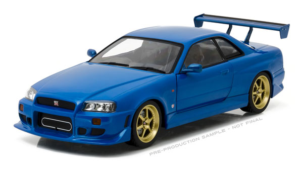 19032 - Greenlight 1999 Nissan Skyline GT R R34
