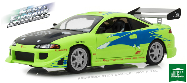 19039 - Greenlight Diecast 1995 Mitsubishi Eclipse