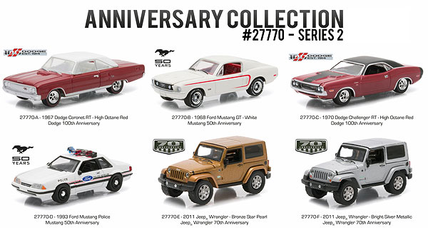 27770-CASE - Greenlight Anniversary Collection Series 2 6 Piece