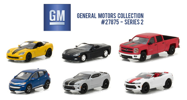 27875-CASE - Greenlight General Motors Collection Series 2 Six