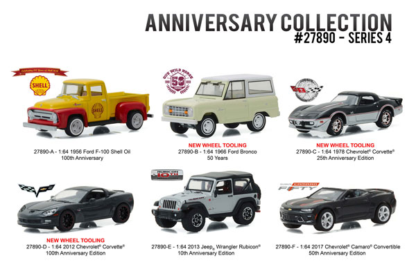 27890-CASE - Greenlight Anniversary Collection Series 4 6 Piece