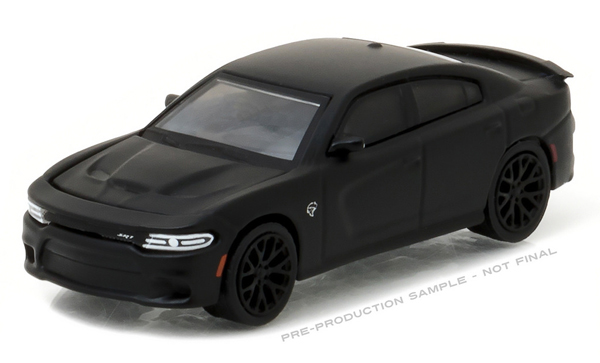 27910-E - Greenlight 2016 Dodge Charger SRT Hellcat Black