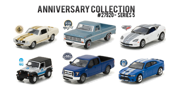 27920-CASE - Greenlight Anniversary Collection Series 5 6 Piece