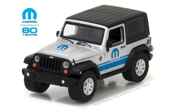27920-D - Greenlight 2015 Jeep Wrangler MOPAR 80th Anniversary
