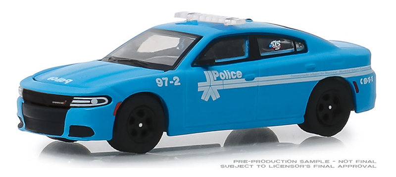 27980-E - Greenlight Diecast 2018 Dodge Charger Montreal Canada Police 175th