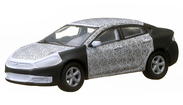 29778 - Greenlight 2013 Dodge Dart Spy Shot Hobby