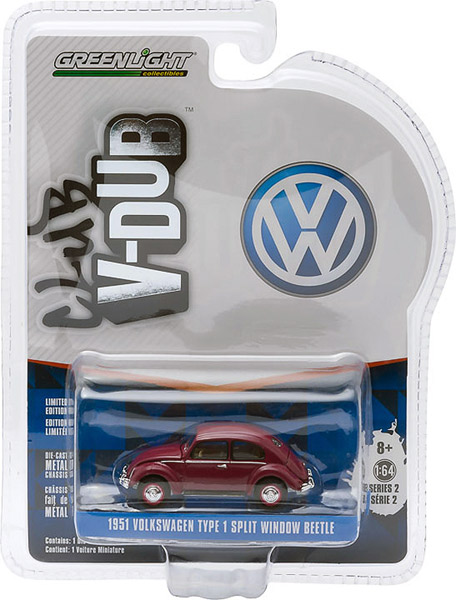 29820-C - Greenlight 1951 Volkswagen Type 1 Split Window
