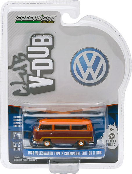 29820-F - Greenlight 1978 Volkswagen Type 2 Champagne Edition