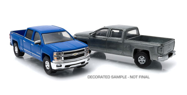 29827 - Greenlight 2014 Chevrolet Silverado LTZ Z71 2