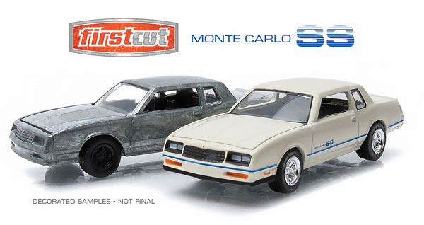 29829 - Greenlight Diecast 1984 Chevrolet Monte Carlo SS 2 Car