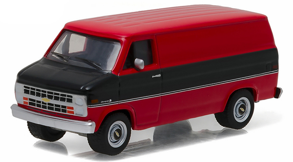 29850-C - Greenlight Diecast 1986 Chevrolet G20 Van