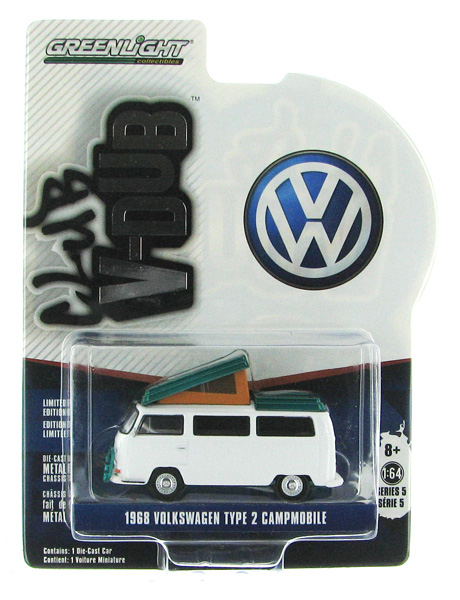 29870-B-SP - Greenlight 1968 Volkswagen Type 2 Campmobile