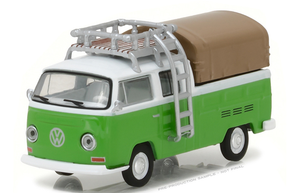 29870-C - Greenlight 1971 Volkswagen Type 2 Double Cab