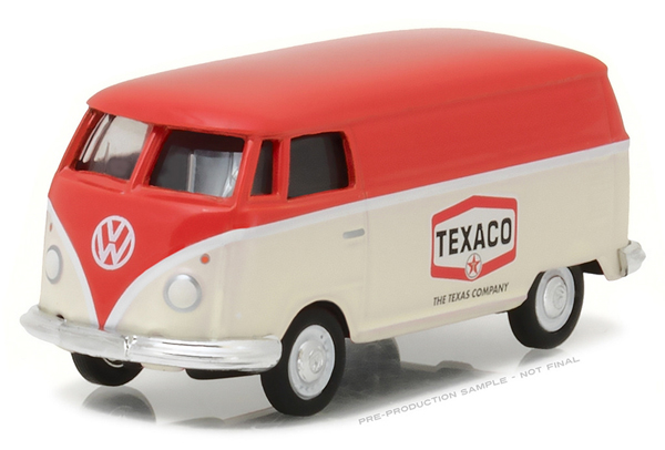 29870-D - Greenlight Diecast Texaco 1975 Volkswagen Type 2 Panel Van