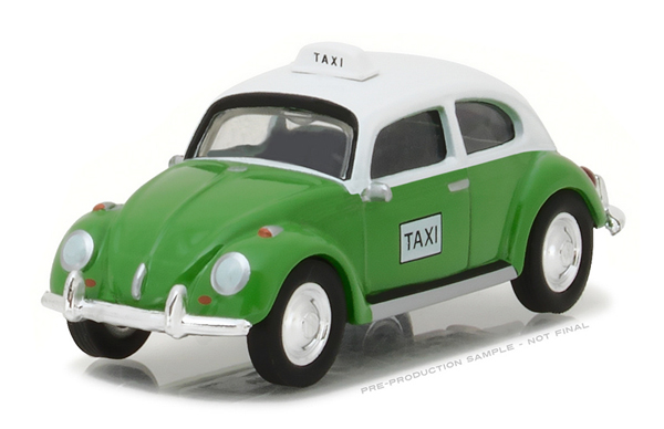 29870-F - Greenlight Taxi Volkswagen Beetle Club V Dub
