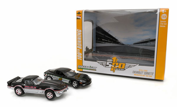 29872-X - Greenlight Indianapolis 500 Pace Cars 2 Piece