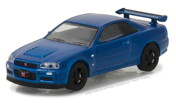29880-E - Greenlight 2002 Nissan Skyline GT R R34