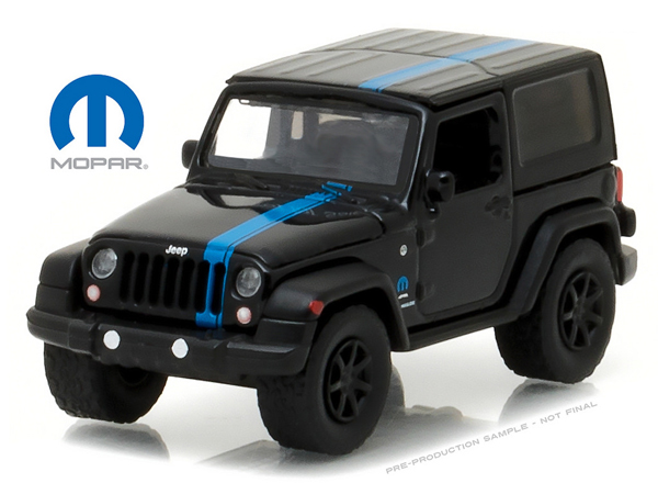 29886 - Greenlight 2010 Jeep Wrangler Mopar Edition Officially