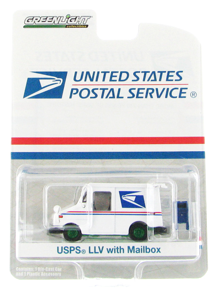Greenlight Diecast USPS Long Life Postal Delivery Vehicle LLV