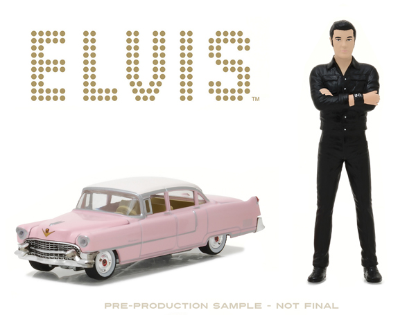 29898 - Greenlight Diecast Elvis Presleys 1955 Cadillac Fleetwood Series 60