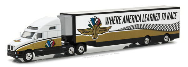 29904 - Greenlight Indianapolis Motor Speedway Kenworth T2000 Transporter