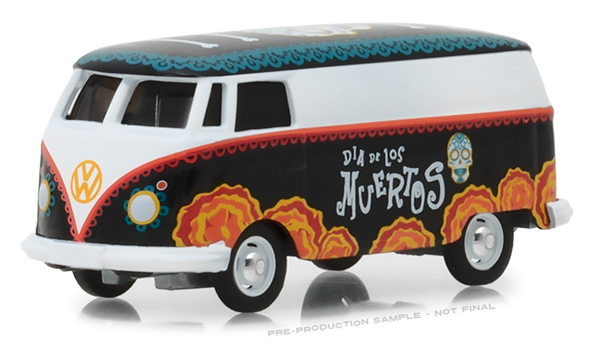 29958 - Greenlight Diecast Volkswagen Type 2 Panel Van Dia de