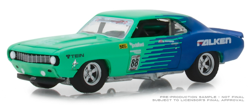 29959 - Greenlight Diecast Falken Tires 1969 Chevy Camaro 88
