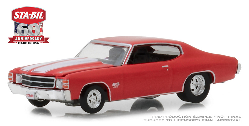 29985 - Greenlight Diecast 1971 Chevrolet Chevelle STA BIL 60th Anniversary